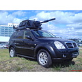 SsangYong Rexton and tank