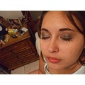 Make up in eyes for party!