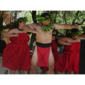 Haumana hula who studied under Kumu Hula John Kaimikaua performed last month at Ka Hula Piko.