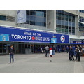 At 5:44pm.At Rogers Centre-On Bremner Blvd.,Toronto,Ont.,On Saturday,June 8,2013