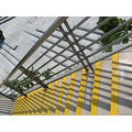 light shadow line pattern color floor steps detail handrail safety ramp architec