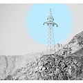 mountains power tower