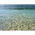 dubrovnik kroatia adriatic blue water sea pebbles stones