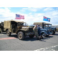 Veteran military vehicles @ Portland Castle, Dorset UK