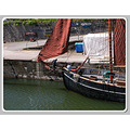 Sea Coast Charlestown Harbour Cornwall Water Sail Boat MMVI