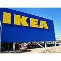 IKEA new building Vala Helsingborg 2010 Skane Sweden blue yellow