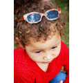 toddler sunglasses sky reflection