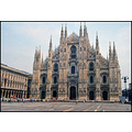 Milano travel church architecture cathedral Italy old gothic marble spire