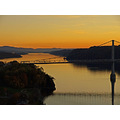hudsonriver evening sunset landscape bridge