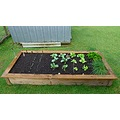 garden vege vegetables plants woodengarden frame