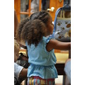 bermuda cruise dockyard clock tower mall child girl