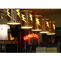 roaster neon lighting
