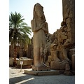 egypt luxor karnak temple sculpture statue ramses egypx luxox state scule