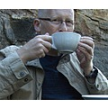 portrait selfportrait knaresborough bare stark cappucino coffee relaxing relaxed