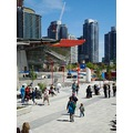 At 2:51pm.Took some pictures around,outside the Rogers Centre-of what was done so far-looking rea...
