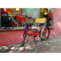 guangzhou china retro chair bike bicycle pink urban street