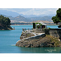 blue water el_chorro lakes home andalucia spain