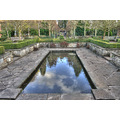 reflectionthursday water garden lotherton hall yorkshire sky