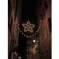 Xmas colmar lights alsace france star