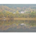 Loch Achray in the Trossachs - Autumn creeping in