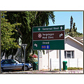 road sign capetown southafrica