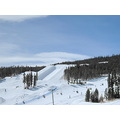 snow skiing mountains board park