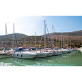 yacht boat port harbour summer spain barcelona vacation