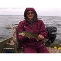 Wife walleye saginaw bay