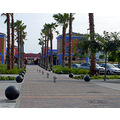 plaza spain malaga holiday vacation shopping