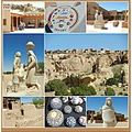 Acoma Sky City New Mexico USA collage