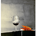 wine tobacco cigarettes glass wall