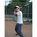 stinky baseball pic of me