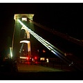clifton suspension bridge night bristol