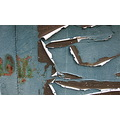 abstract macro rust dumpster sticker