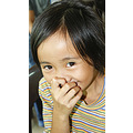 Her-portrait of a smiling face from DBCH orphanage