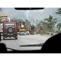 Nepal Travel Tourist Manakamana Cablecar Roadworks