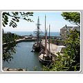 Mast Ship Boat Charlestown Harbour Cornwall Sea Coast Water Sail MMVI
