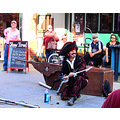 street show sword swallower chainsaw comedy freemantle wa littleollie