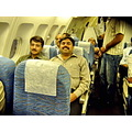 In Aeroplane back from Lahore to Matiari Sindh Pakistan