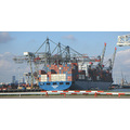 rotterdam harbour boats ships river maas transport holland