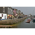 Cornwall UK Mevagissey Sea Coast Harbour Boat Moored Quay