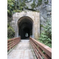 """Othello Tunnel - BC, Canada  """"It is an abandoned rail bed in the Southern Interior of British C..."""