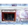 tearoom Prague grafitti Bohemia