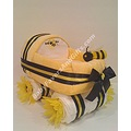 BusyBee Baby Carriage Diaper Cake