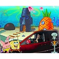 Car wash Spongebob