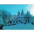 cherepovets church russia orthodox winter snow north