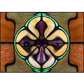 Floating (at least in my vision) Stain Glass Window