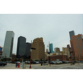 houston texas us usa architecture downtown hurricane ike skyline 120706 2008