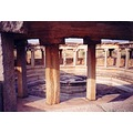 The Octogonal Bath at Hampi