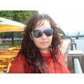 my sister (cousin) who lives in Riga, very nice girl! Анечка...